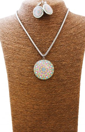 Candyland Mandala Jewellery Set
