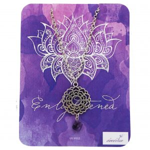 Crown Chakra Necklace with Amethyst