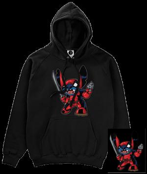 Deadpool Stitch Hoodie