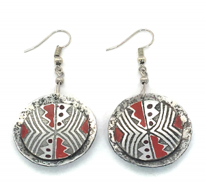 African Zig Zag Earrings