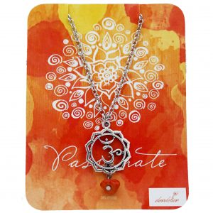 Sacral Chakra Necklace with Carnelian