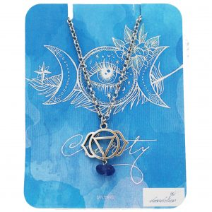 Third Eye Chakra Necklace with Lapis Lazuli