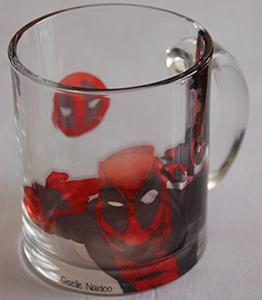 Deadpool Glass Mug