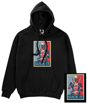 Deadpool Suck It Hoodie