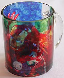 Ironman Glass Mug