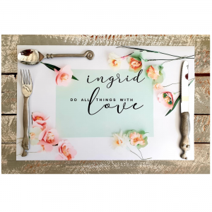 Do All Things with Love Placemats