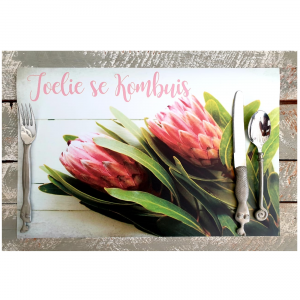 Pink Proteas 2 Placemats