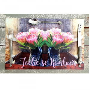 Pink Proteas Placemats